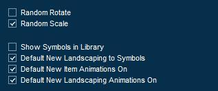 Pool Studio Library Panel Item Options