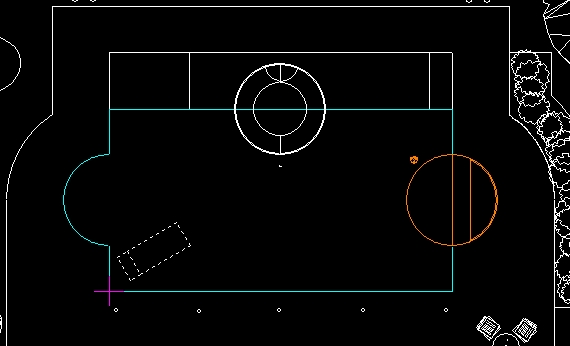 Pool Studio AutoCAD Line Colors in the AutoCAD View