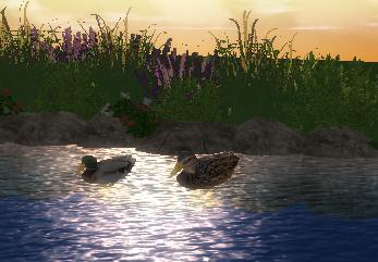 Pool Studio Landscaping Animated Items