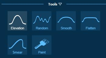 Pool Studio Property Slope Tools