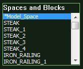 VizTerra AutoCAD Spaces and Blocks