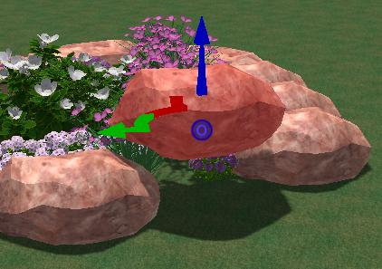 VizTerra Pool Studio 3D Gizmo Moving Objects