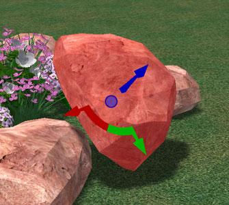 VizTerra Pool Studio 3D Gizmo Object Alignment