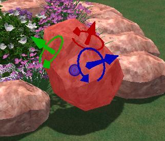 VizTerra Pool Studio 3D Gizmo Rotating Objects