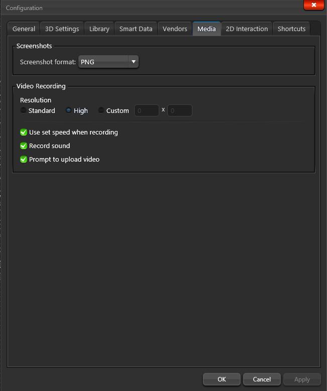 Configuration Media