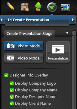 Designer Overlay Info