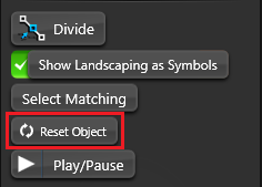 Object Tab Reset Object