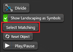 Object Tab Select Matching