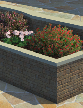 Planters Stage Raised Planter