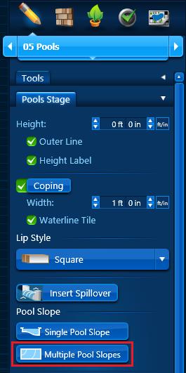 Pool Slope - Multiple