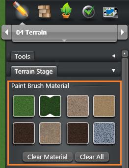 Terrain Stage Paint Brush VT