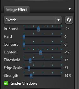 VIP Image Effect Sketch