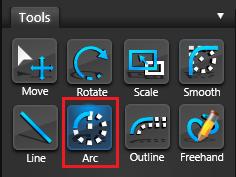 Vip3D Tools Arc