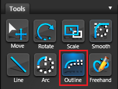 Vip3D Tools Outline