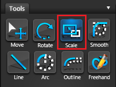 Vip3D Tools Scale