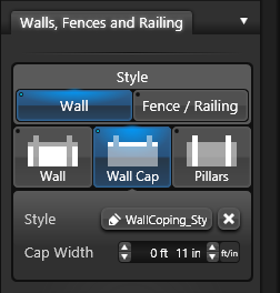 Wall Fence Wall Cap