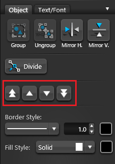 Object Tab Visual Stacks