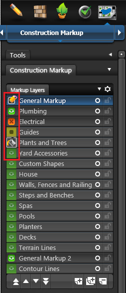 VIP Construction Markup Layers 1