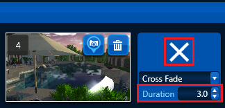 VIP Video Mode Cross Fade