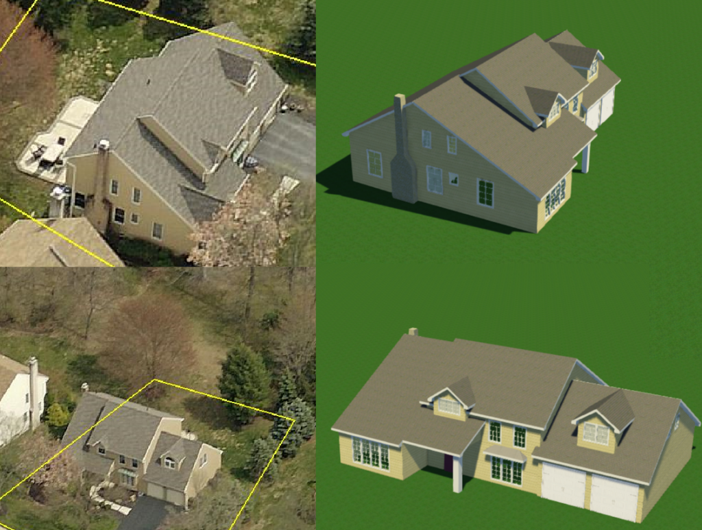 Gis aerial imagery help structure studios for Location of doors and windows
