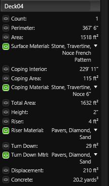 Smart Data Deck Materials